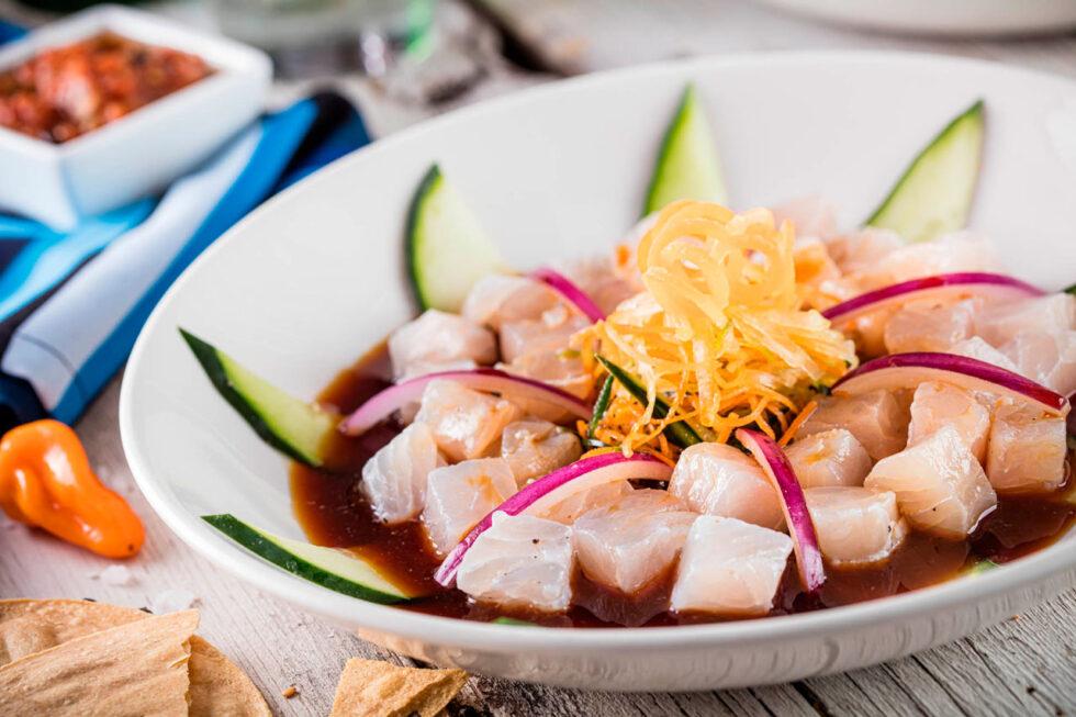 Premium fish scallops