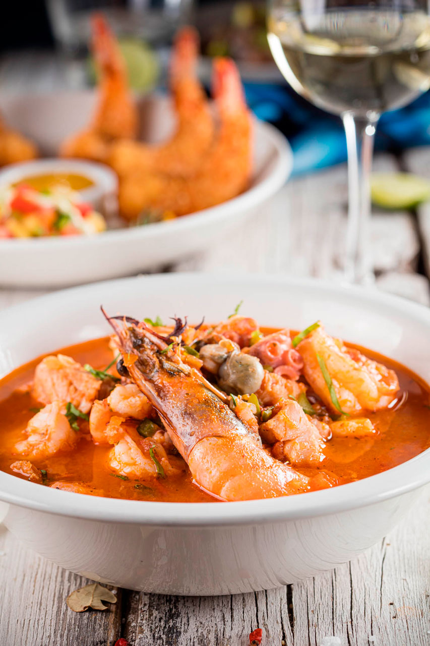 Special seafood soup